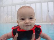 Image13: Baby Swimming in action